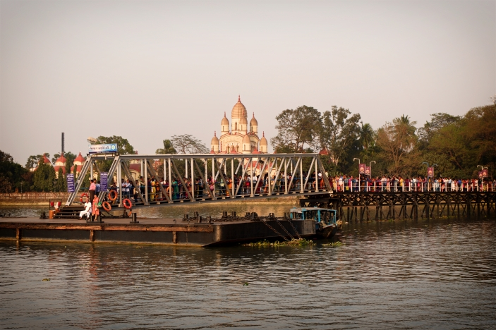 Dock with Kali temple